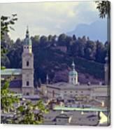 Salzburg City View Two Canvas Print