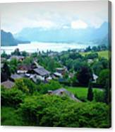 Salzburg Lake District Canvas Print