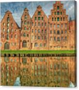 Salzspeicher Canvas Print