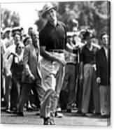Sam Snead 1912-2002, American Golfer Canvas Print