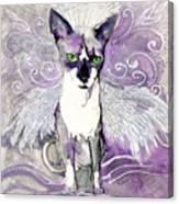 Sam The Sphinx Canvas Print