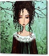 Samantha's Chocolate Tree Canvas Print