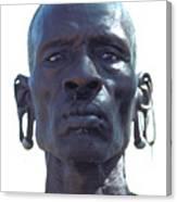 Samburu Warrior In Kenya Canvas Print