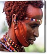 Samburu Warrior Canvas Print