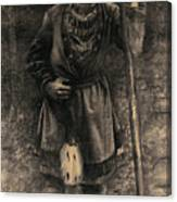 Same I Skogsbryn Canvas Print
