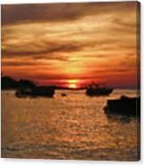 Samed Island Sunrise Canvas Print