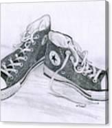 Sam's Shoes Canvas Print