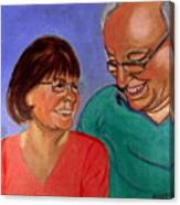 Samson And Delia Canvas Print