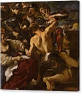 Samson Captured By The Philistines Canvas Print