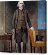 Samuel Adams (1722-1802) Canvas Print