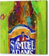 Samuel Adams Boston Ale Canvas Print