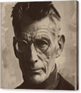 Samuel Beckett 1 Canvas Print