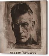 Samuel Beckett 01 Canvas Print
