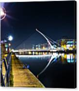 Samuel Beckett Bridge 2 Canvas Print
