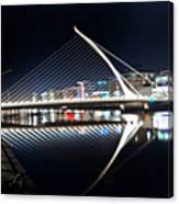 Samuel Beckett Bridge 3 V2 Canvas Print