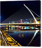 Samuel Beckett Bridge 5 Canvas Print