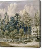 Samuel Fleet Homestead Canvas Print