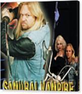 Samurai Vampire Bikers From Hell Canvas Print