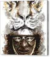 Samurai - Warrior Soul. Canvas Print