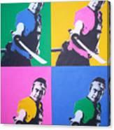 Samurai X 4 Canvas Print