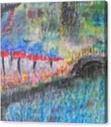 San Antonio By The River I Canvas Print