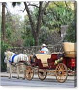 San Antonio Carriage Canvas Print