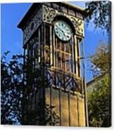San Antonio Clock Canvas Print