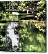 San Antonio River Scenic Canvas Print