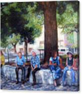 San Antonio Shadowplay Canvas Print
