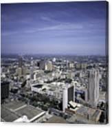 San Antonio Texas Skyline Canvas Print
