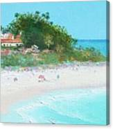 San Clemente Beach Panorama Canvas Print