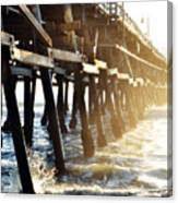 San Clemente Pier Magic Hour Canvas Print