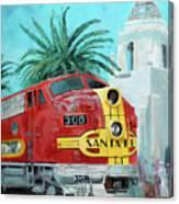 San Diegan On Liberty Canvas Print