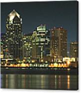 San Diego Cityscape Canvas Print