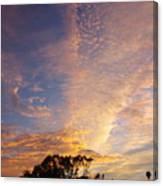 San Diego Sunsrise 1 7/12/15 Canvas Print