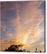 San Diego Sunsrise 3 7/12/15 Canvas Print