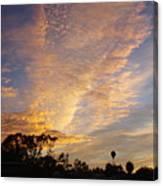 San Diego Sunsrise 4 7/12/15 Canvas Print