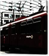 San Diego Trolley Canvas Print