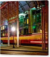 San Diego Trolley Station Canvas Print