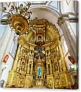 San Felipe De Jesus Satelite Canvas Print