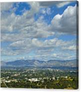 San Fernando Valley Panorama Canvas Print