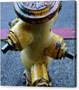 San Fran Hydrant Canvas Print