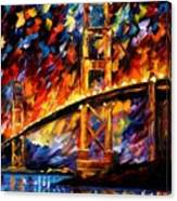 San Francisco - Golden Gate Canvas Print
