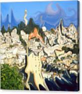 San Francisco 1906 - Modern Art Canvas Print
