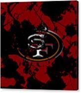 San Francisco 49ers 1b Canvas Print