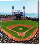 San Francisco Ballpark Canvas Print