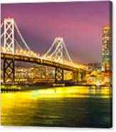 San Francisco - Bay Bridge Canvas Print