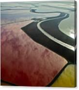 San Francisco Bay Salt Flats 4 Canvas Print