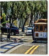 San Francisco, Cable Cars -1 Canvas Print
