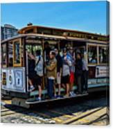 San Francisco, Cable Cars -3 Canvas Print
